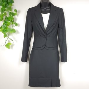 The Limited Black Skirt Suit set XS